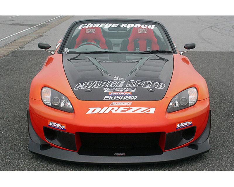 ChargeSpeed FRP Wide Body Front Bumper Honda S2000 00-08 - CS330FBW