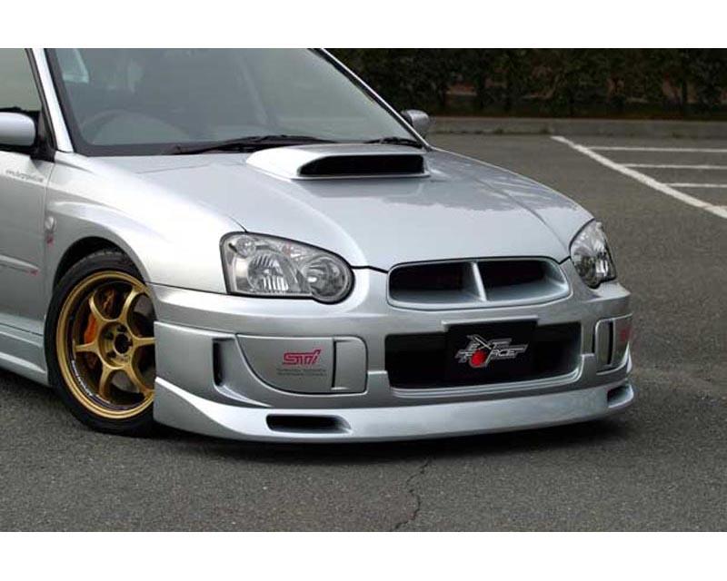 ChargeSpeed Carbon Fiber Full Lip Spoiler Kit Subaru WRX STI GDB 2004 - CS977FLKC