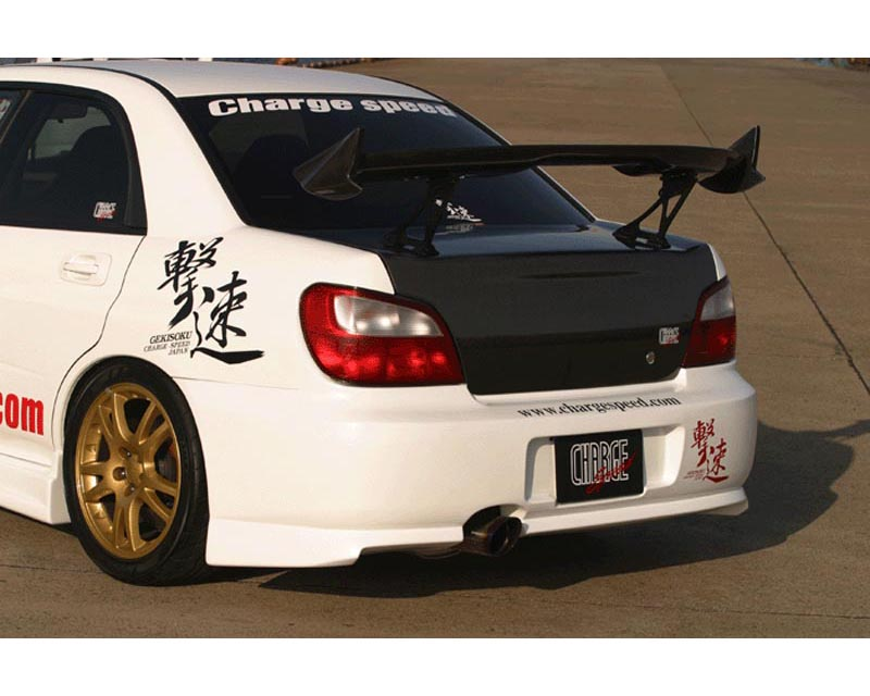 ChargeSpeed Type 1 Rear Bumper Subaru WRX GDA 02-03 - CS978RB1
