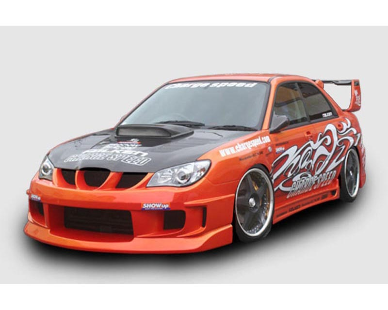 ChargeSpeed Type 1A Full Body Kit with Type 2 Skirts Subaru WRX STI GD-F 06-07 - CS975FK1A2