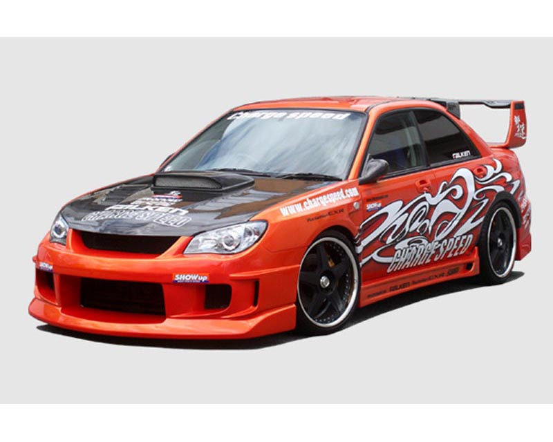 ChargeSpeed Type 1B Front Bumper Subaru WRX STI GD-F Latter Term 06-07 - CS975FB1B