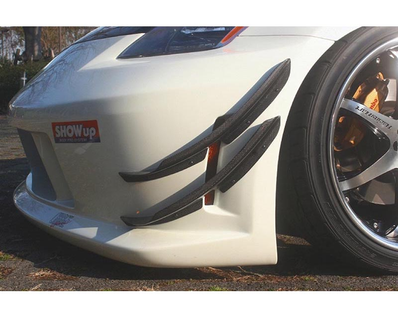 ChargeSpeed FRP Lower Canards Nissan 350Z 03-08 - CS722CLF