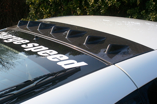 ChargeSpeed Carbon Roof Fin Nissan 350Z 03-08