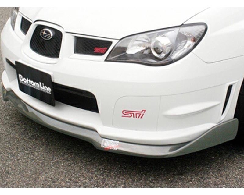 ChargeSpeed Bottom Line Type 2 FRP Front Lip Subaru STI GD-F 06-07 - CS975FL2F