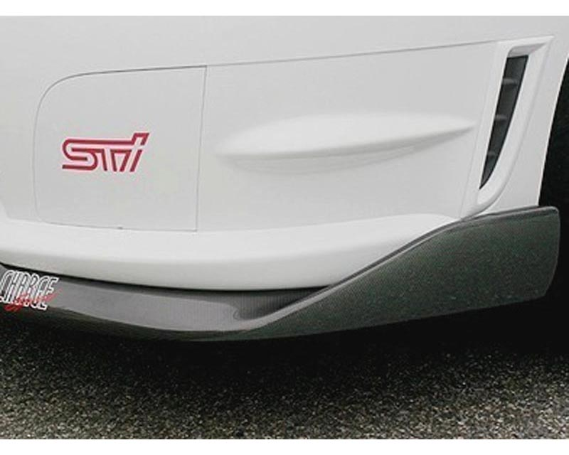 ChargeSpeed Bottom Line Type 2 Carbon Front Lip Subaru STI GD-F 06-07 - CS975FL2C