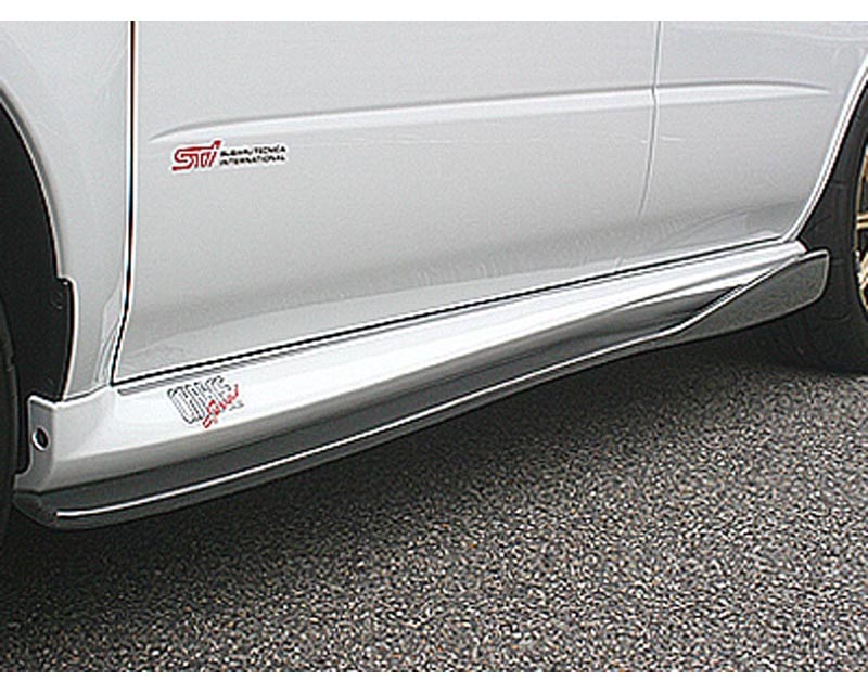 ChargeSpeed Bottom Line FRP Side Skirts Subaru WRX STI 04-07 - CS977SSF
