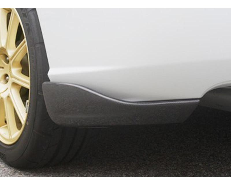 ChargeSpeed Bottom Line Carbon Rear Lip Caps Subaru WRX STI 04-07