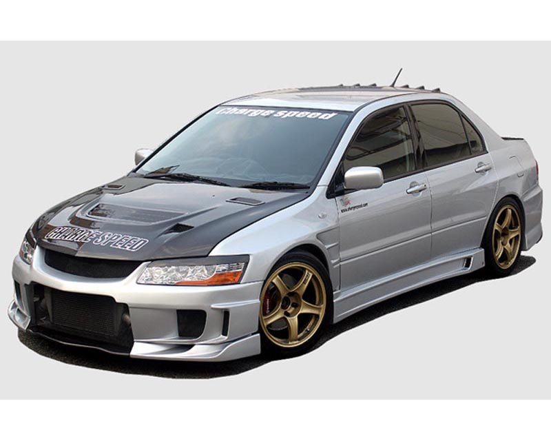 ChargeSpeed Type 2 Full Body Kit w/ Diffuser Mitsubishi EVO VII VIII IX 03-08 - CS424FK2