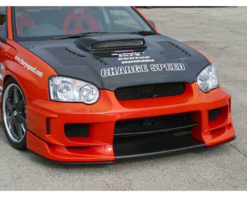ChargeSpeed Type 2 Full Body Kit with Straight Carbon Center Subaru WRX STI 2005 - CS977FKSA