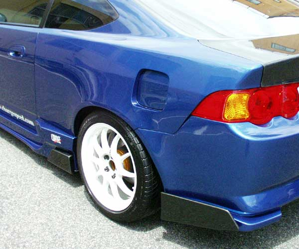 Chargespeed Rear Wide Body Fenders 20mm Acura Rsx Dc5 02 06