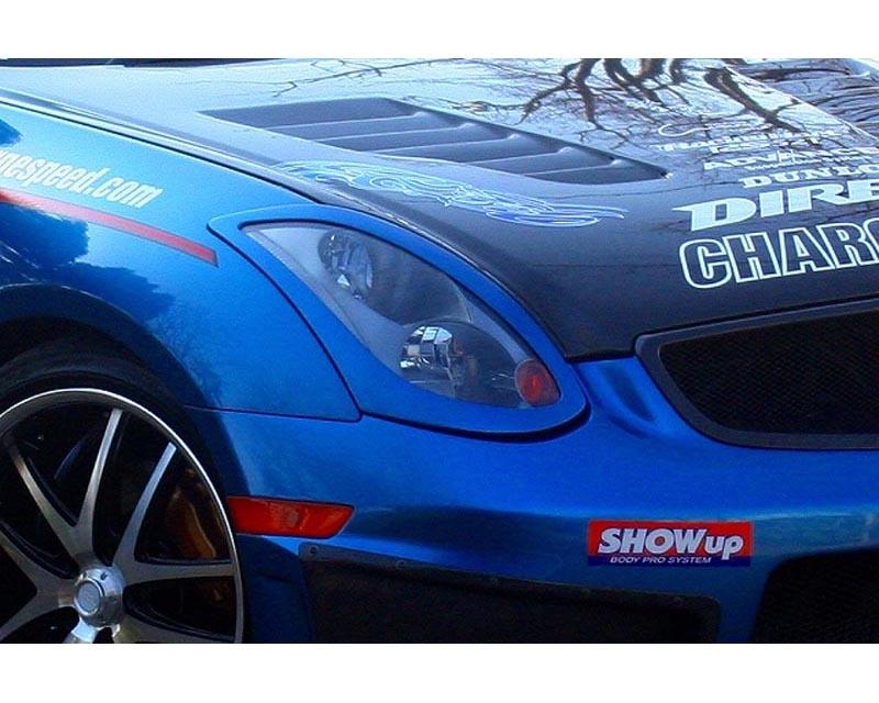 ChargeSpeed FRP Eyelids Infiniti G35 Coupe 03-07 - CS695EB