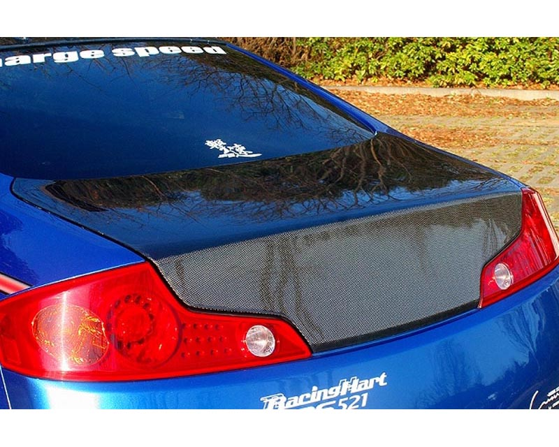 ChargeSpeed Carbon Rear Trunk Infiniti G35 Coupe 03-07 - CS695TRC