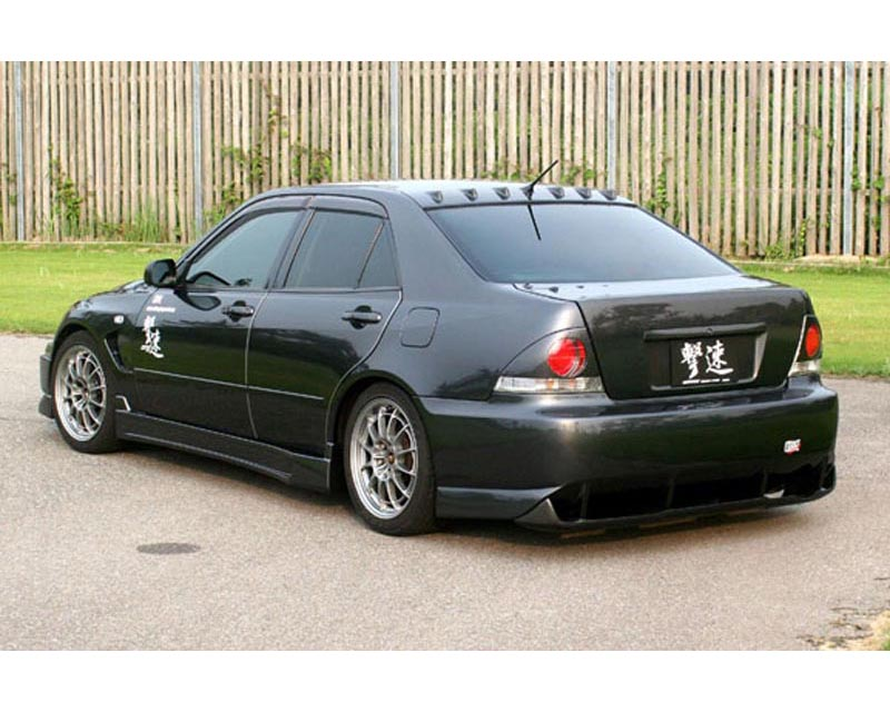 ChargeSpeed Rear Bumper w/o Diffuser Lexus IS300 00-05 - CS899RB