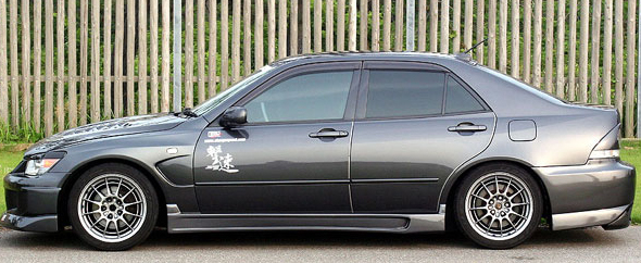 ChargeSpeed Type 2 Side Skirts Lexus IS300 00-05 - CS899SS2