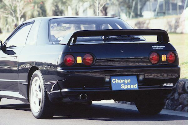 ChargeSpeed Rear Wing Nissan Skyline R32 4dr 89-93 - CS725RW2