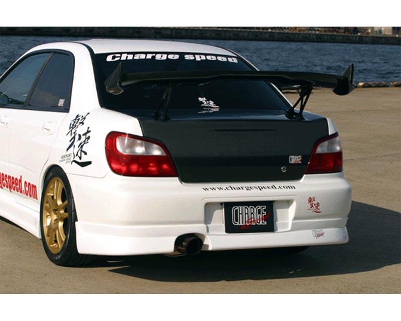 ChargeSpeed Rear Under Spoiler Subaru WRX GDA 02-03 - CS978RS