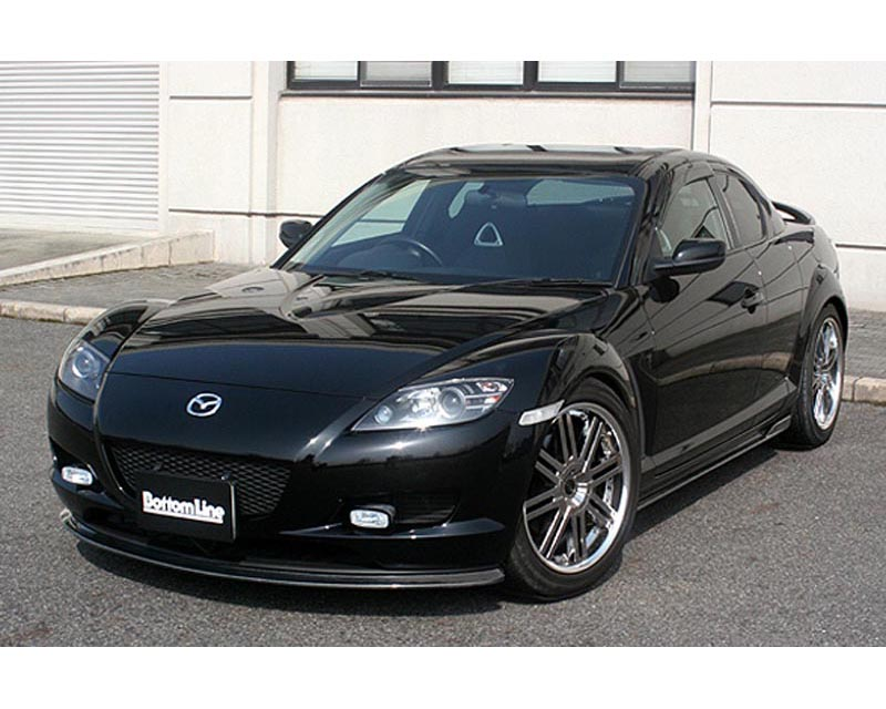 ChargeSpeed Bottom Line FRP Front Lip Spoiler Mazda RX-8 03-08 - CS716FLF
