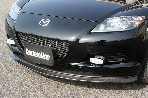 ChargeSpeed Bottom Line Carbon Front Lip Spoiler Mazda RX-8 03-08