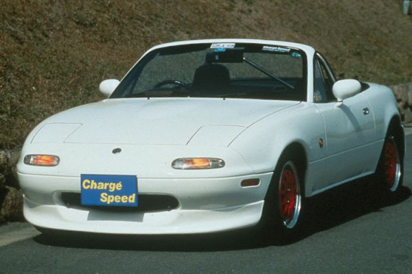 ChargeSpeed Front Spoiler Mazda Miata 90-98 - CS735FL