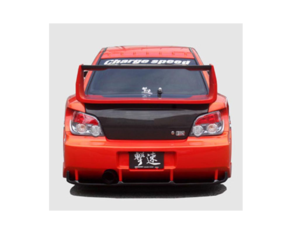 ChargeSpeed GT Wide Body Rear Bumper Subaru WRX STI 02-07 - CS977RBW