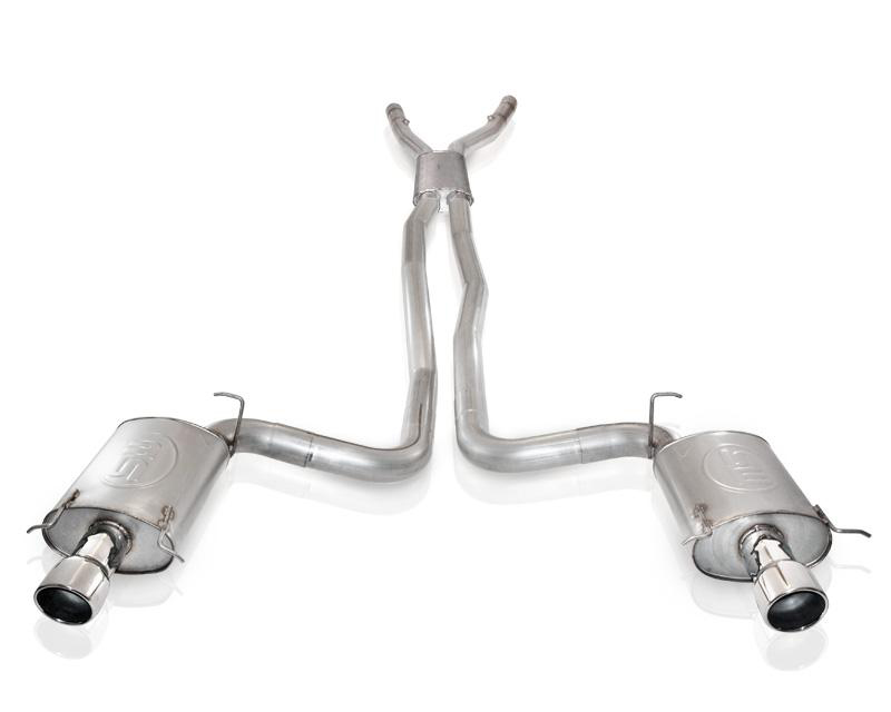 Stainless Works Exhaust with Resonator & Cats for SW Headers Cadillac CTS-V 04-07 - CTSVEHR