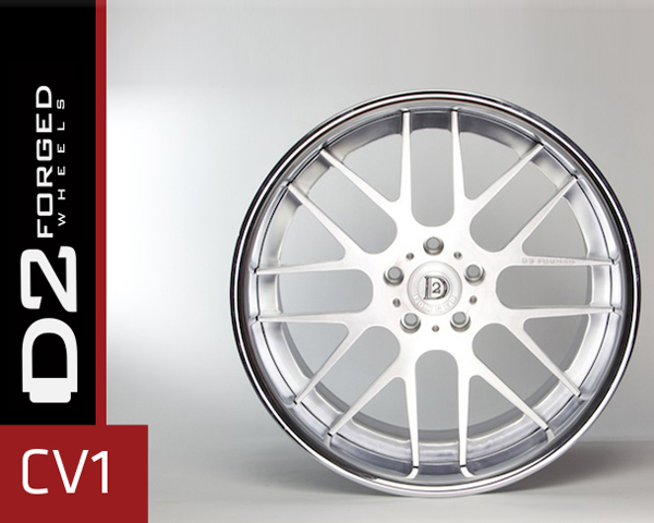 D2FORGED CV1 Forged 3-Piece Wheel 21 Inch