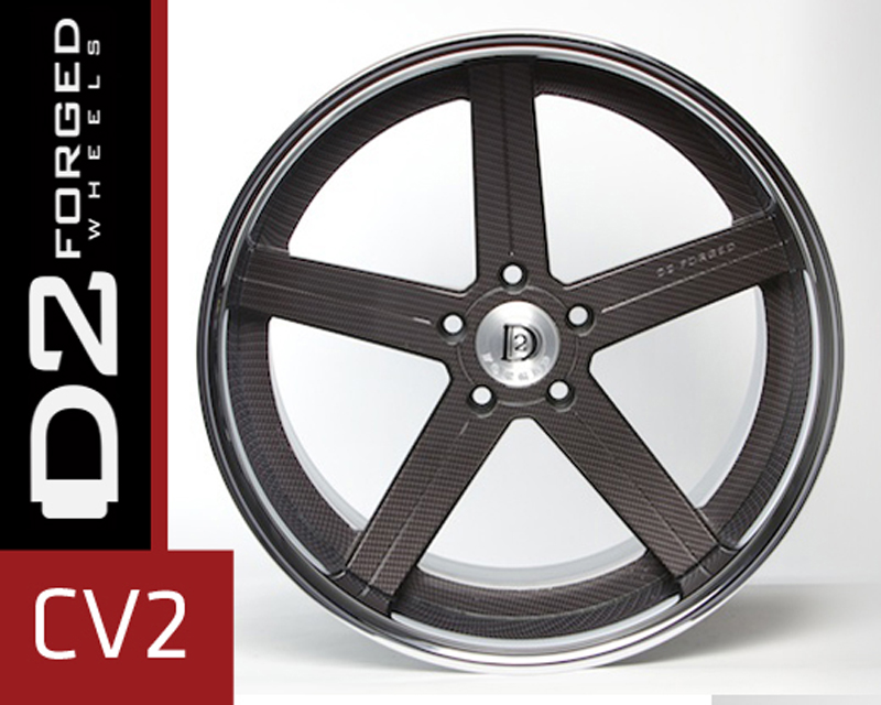 D2FORGED CV2 Forged 3-Piece Wheel 24 Inch