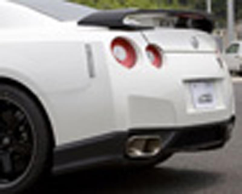 Image of C-West Carbon Fiber Rear Diffuser Nissan R35 GT-R 09-12