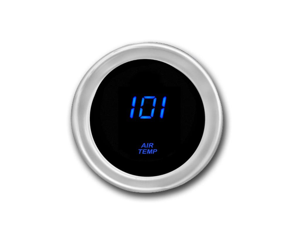 Cyberdyne Blue Ice Ambient Air Temperature Gauge - A024E351Y