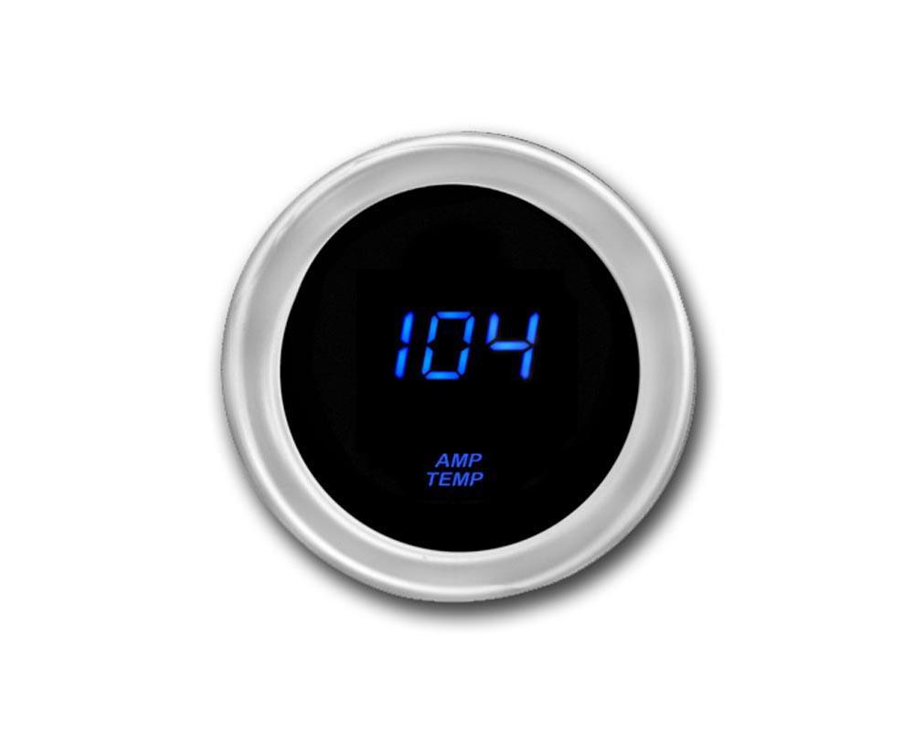Cyberdyne Blue Ice Amplifier Temperature Gauge - A023E351Y