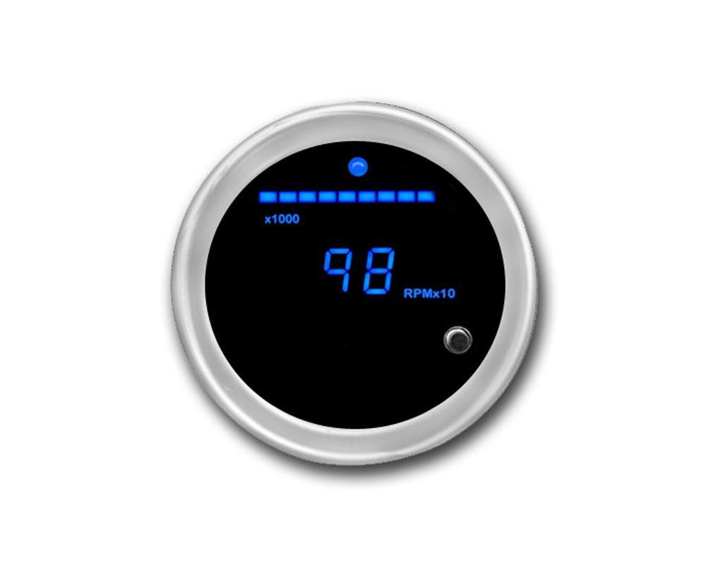 Cyberdyne Blue Ice Tachometer - C255E351N