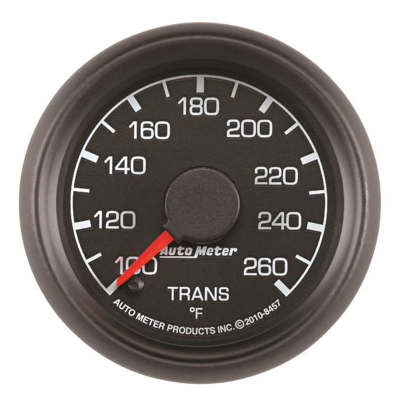 AutoMeter GAUGE; TRANS TEMP; 2 1/16in.; 100-260deg.F; STEPPER MOTOR; FORD FACTORY MATCH Ford 1999-2007 - 8457