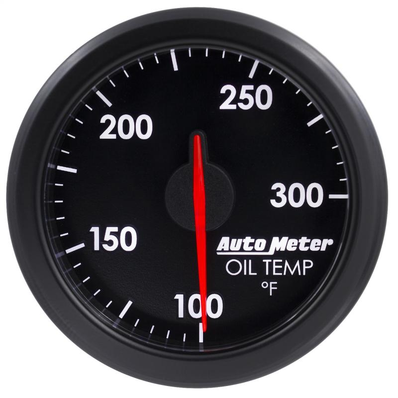 AutoMeter 2-1/16in. TRANS TEMP; 100-300`F; AIRDRIVE; BLACK - 9157-T