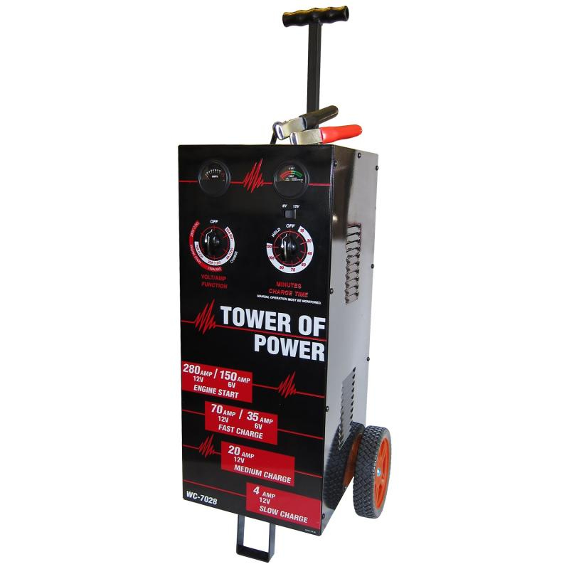 AutoMeter WHEEL CHARGER; TOWER OF POWER; MAN; 70;30;4; 280 - WC-7028