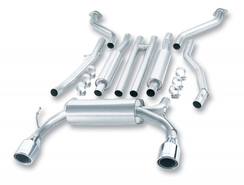 Borla S-Type Cat-Back™ Exhaust System Infiniti G35 2003-2007 - 140057