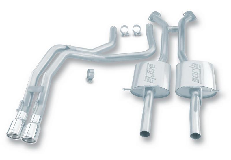 Borla S-Type Cat-Back™ Exhaust System Pontiac GTO 2004 5.7L V8 - 140077