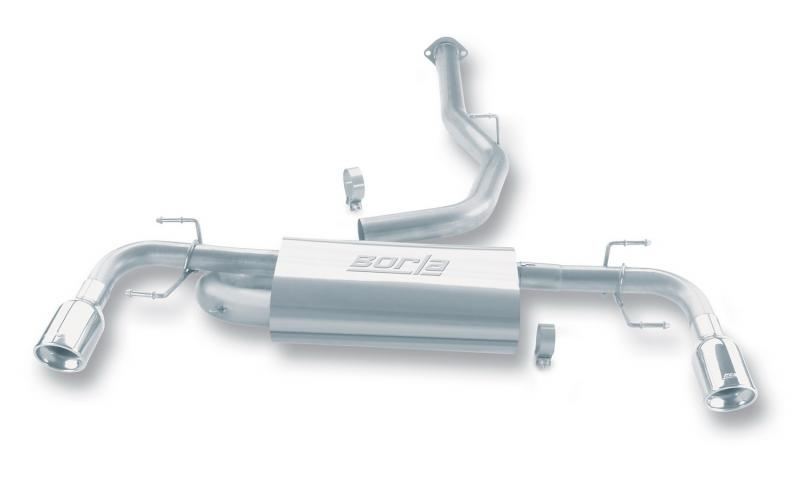 Borla S-Type Cat-Back™ Exhaust System Mazda RX-8 2004-2008 1.3L 2-Cyl - 140078