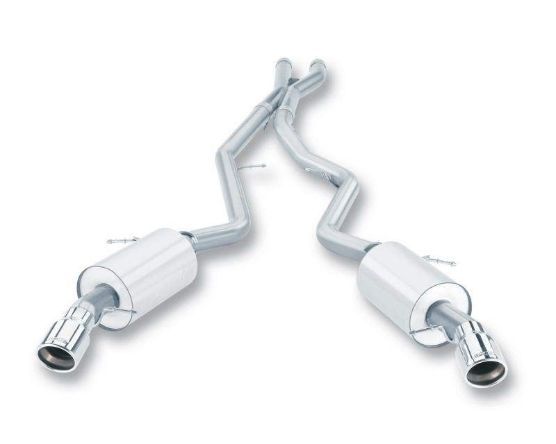 Borla S-Type Cat-Back™ Exhaust System BMW 335i 2007-2010 3.0L 6-Cyl - 140276