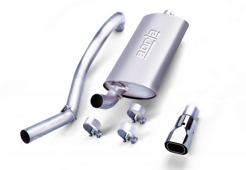Borla Touring Cat-Back™ Exhaust System Jeep 1997-1999 - 14728