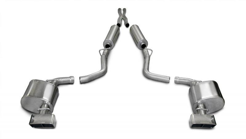Borla 140286 Cat-Back Exhaust System for Challenger SRT-8 09-10 6.1L