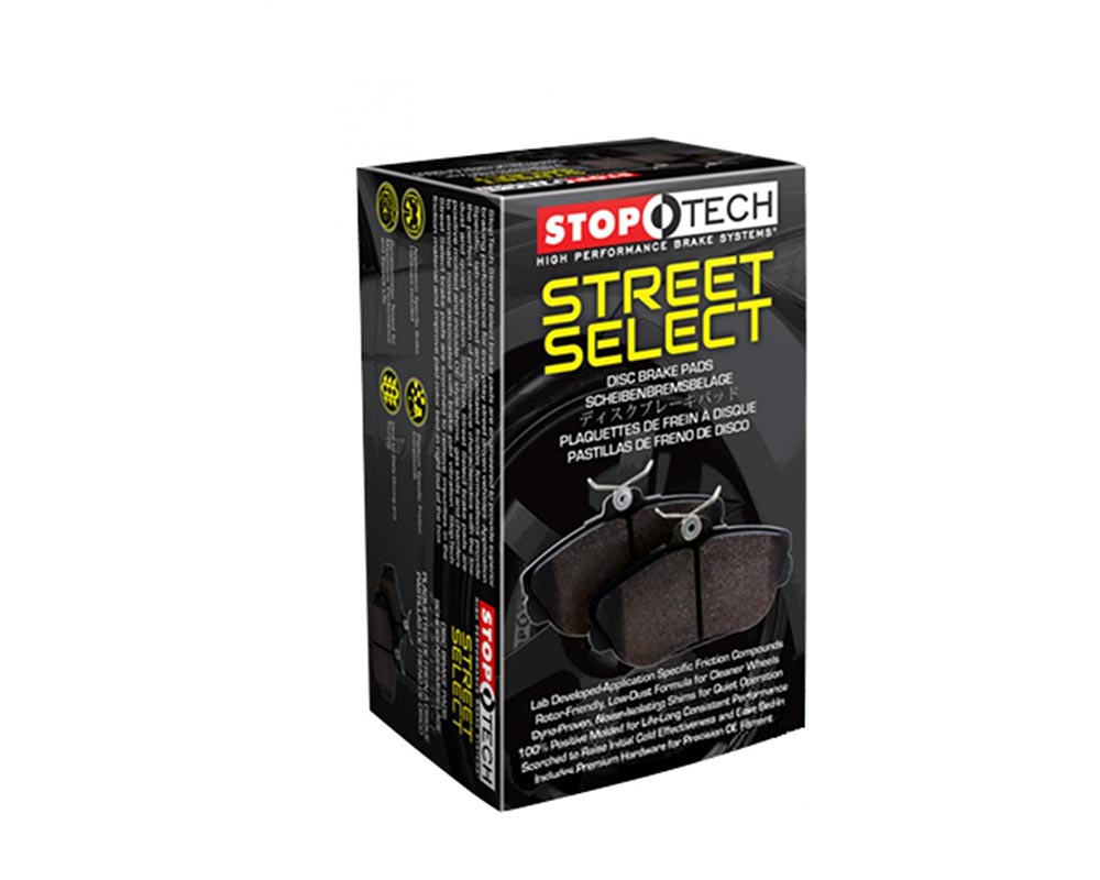 Front /& Rear Set for Audi Stoptech Street Brake Pads