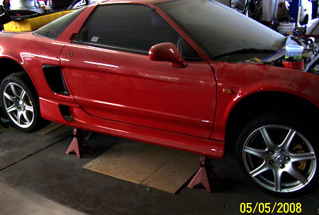 Downforce TCRC Side Skirts Acura NSX 91-05 - DF-AAA235FG