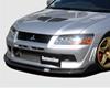 Image of ChargeSpeed Bottom Line Carbon Front Lip Mitsubishi EVO VIII 03-05