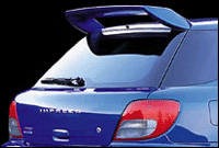 Dolphin Rear Wing 02-on Subaru Wagon WRX