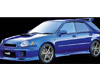 Image of Dolphin Rear Lip Spoiler 02-03 Subaru Wagon WRX