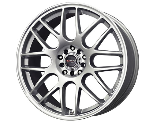 Drag DR-34 17X7.5  5x100/114  45mm Silver Machined Lip - DT-22824