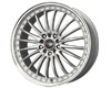 Image of Drag DR-36 17X7.5 4x100114 42mm Silver Machined Lip