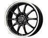 Image of Drag DR-9 15X6.5 4x100114 38mm Gloss Black Machined
