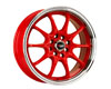 Image of Drag DR-9 15X6.5 4x100114 38mm Red Machined