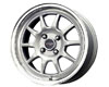 Image of Drag DR-16 15X7 4x100 40mm Silver Machined Lip